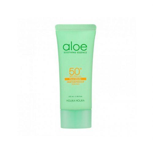 aloe soothing essence waterproof sun gel