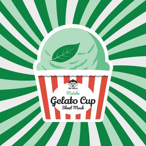 Dr. Mola Gelato Cup Matcha Sheet Mask