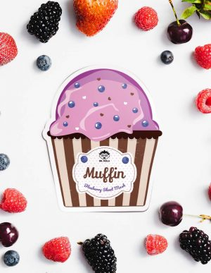 Dr. Mola Muffin Blueberry Sheet Mask