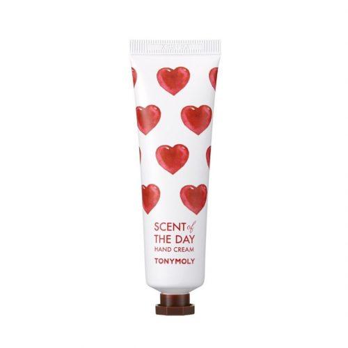 tonymoly scent of the day hand cream so romantic
