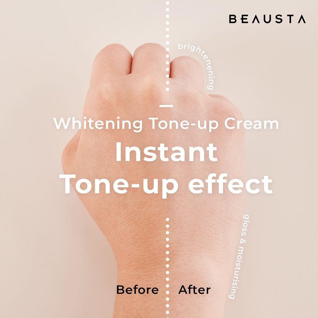 Beausta Whitening Tone-Up Cream shade