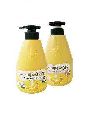 Banana Milk Body Cleanser Lotion