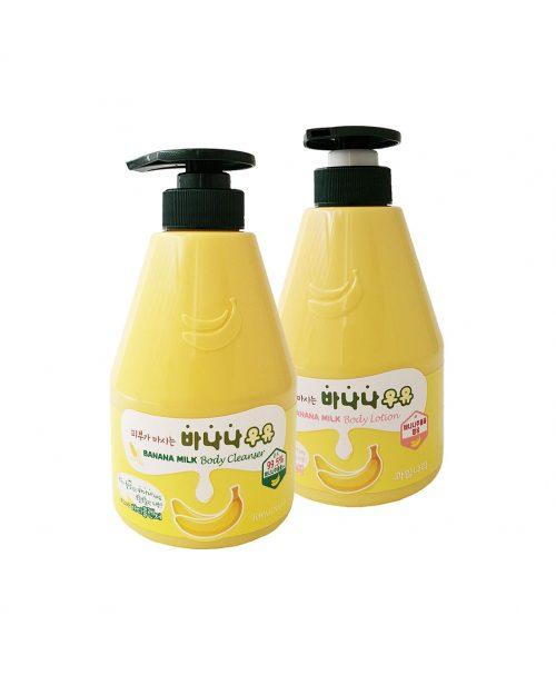 Banana Milk Body Cleanser Lotion