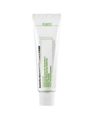 centella unscented recovery cream purito
