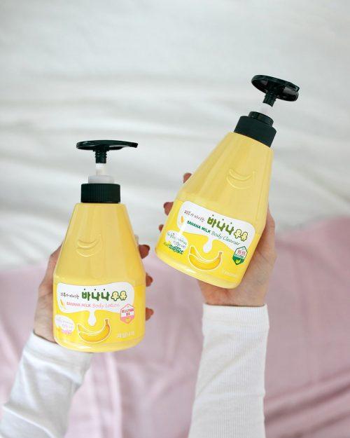 Banana Milk Body Cleanser ja Lotion Kwailnara