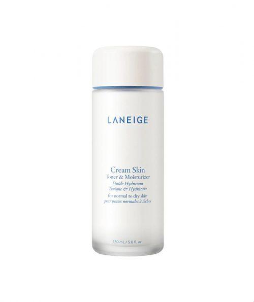 Laneige Cream Skin Toner and Moisturizer