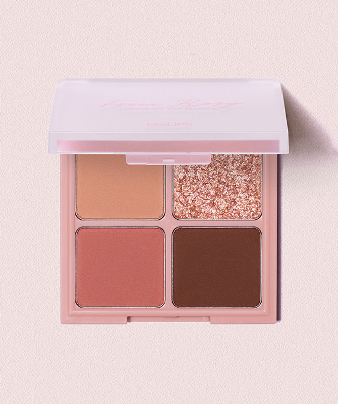 Colour Fit Eye Palette 02 From Rosy 2