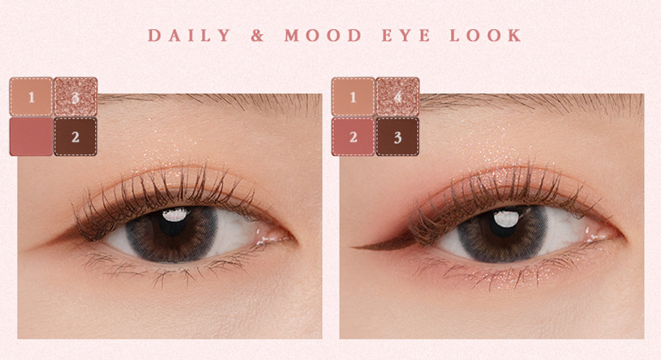 Colour Fit Eye Palette 02 From Rosy 5