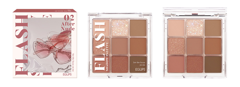 Eglips Flash Shadow Palette After Nude 3