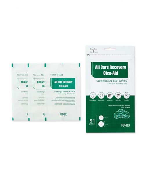Purito All Care Recovery Cica-Air -finnilaastarit