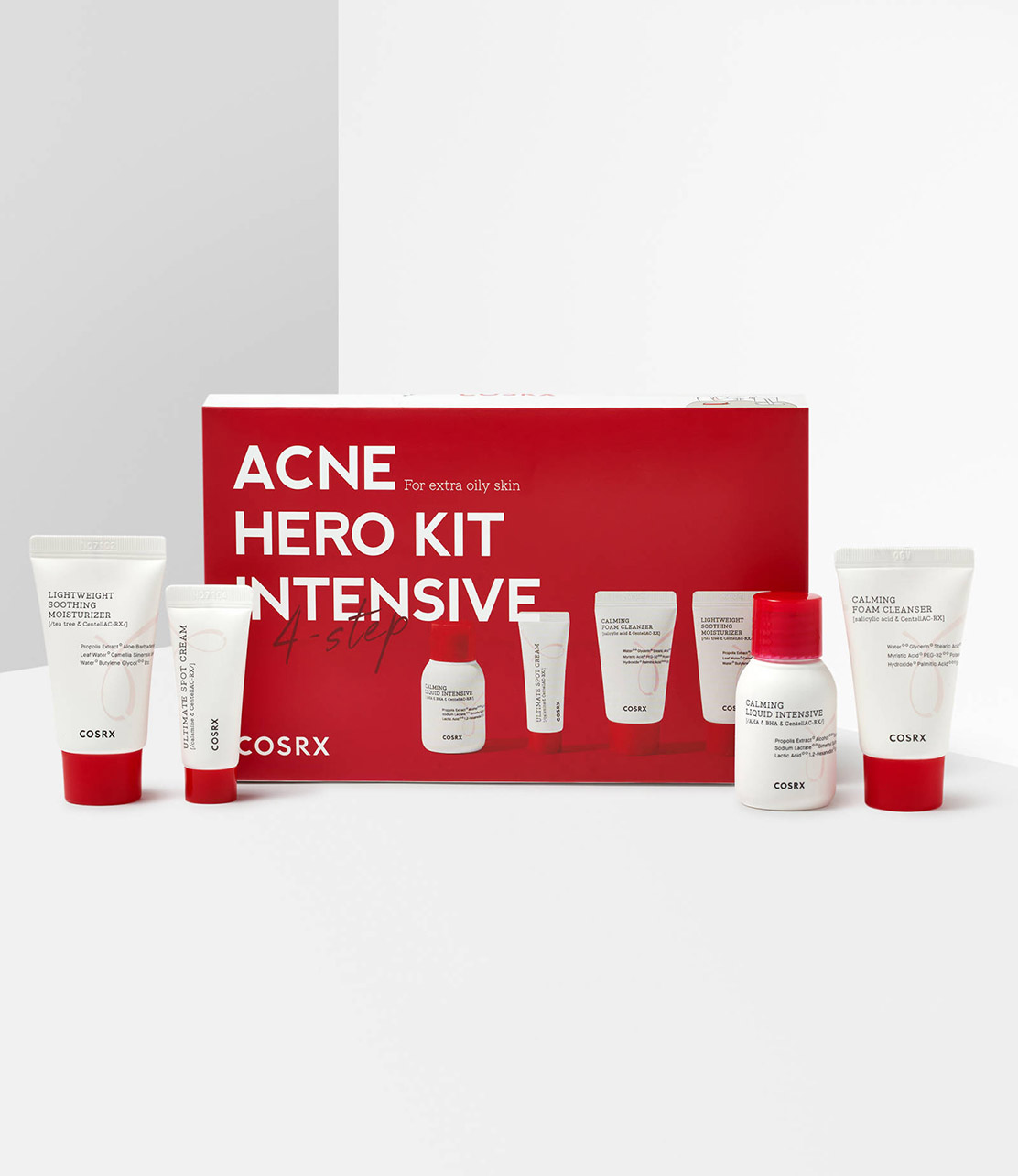 cosrx acne hero kit products