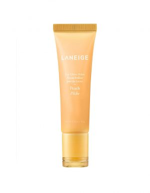 Laneige Lip Glowy Balm Peach lip balm for daily use