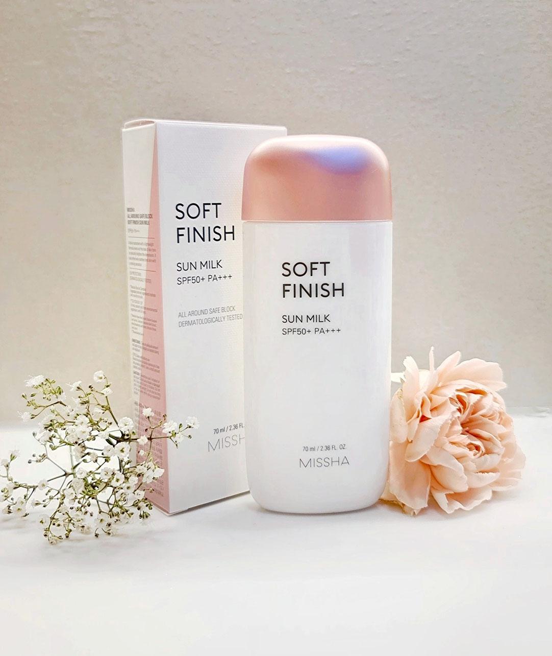 Missha All Around Safe Block Soft Finish Sun Milk