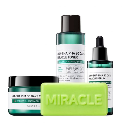 Some By Mi AHA BHA PHA 30 Days Miracle Starter Kit products