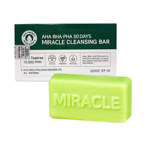Some By Mi AHA BHA PHA Miracle Acne Cleansing Bar