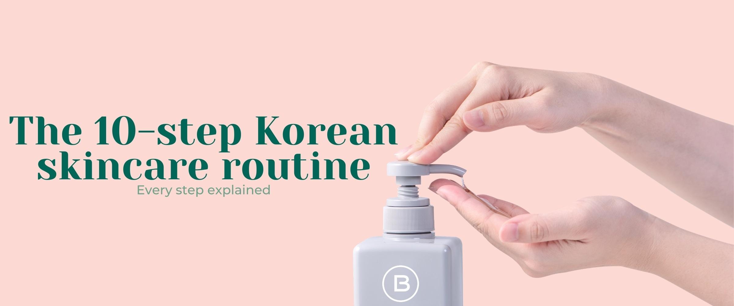 the korean 10-step skincare routine