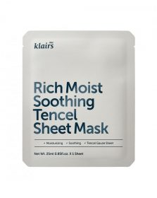 Klairs Rich Moist Soothing Tencel Mask