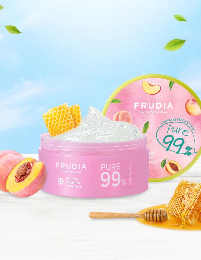 Frudia Peach Real Soothing Gel