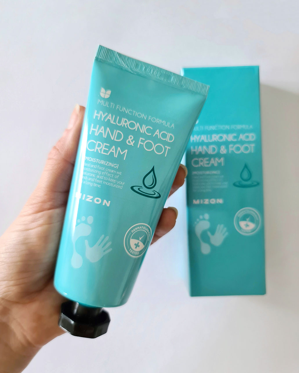 mizon hyaluronic acid hand and foot cream