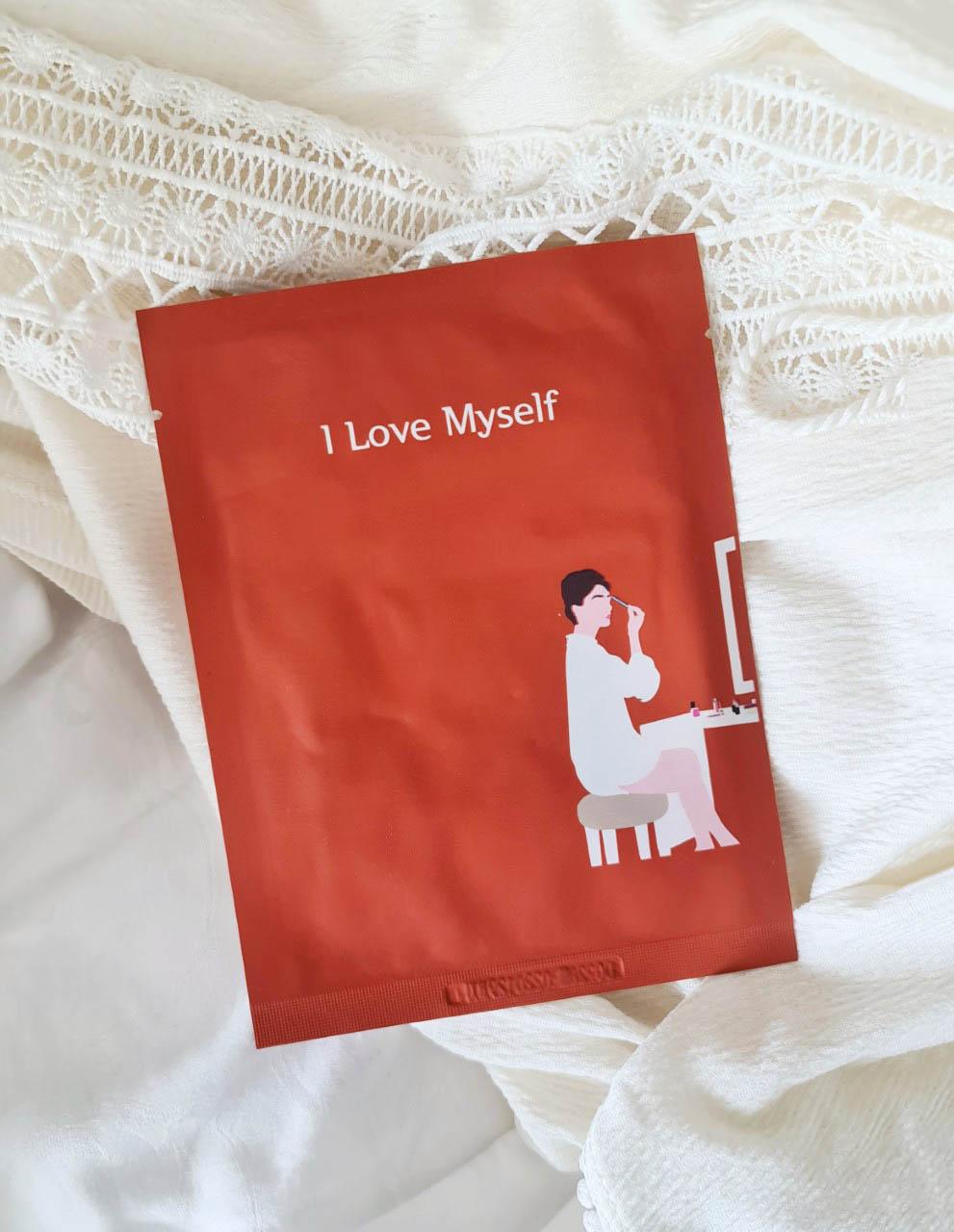 I Love Myself sheet mask 1
